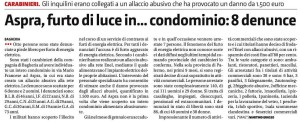 Gds 29-09-2016 Furto di luce in condominio