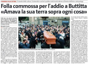 gds 05-02-2017 folla commossa per l'addio a Nino Buttitta