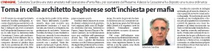 gds29-03-2017TORNA IN CELLA ARCHITETTO BAGHERESE