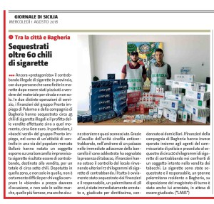 GDS 01-08-2018 SEQUESTRATE SIGARETTE