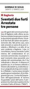 GDS 17-03-2018 Sventati due furti
