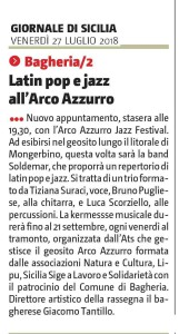 GDS27-08-2018 Latin pop e jazz