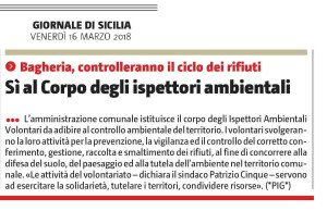 Gds 16032018 ispettore ambientale