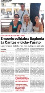 GDS24-05-2019 Emporio solidale a Bagheria